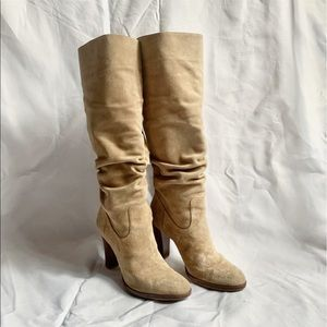 Banana Republic knee high Suede Boots size 8